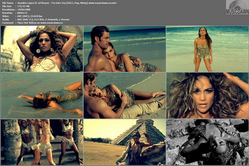 Jennifer Lopez ft. Lil Wayne - I'm Into You (2011, Pop, HDrip)