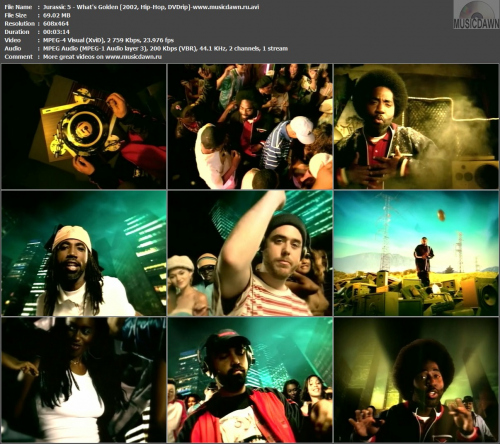 Jurassic 5 - What's Golden (2002, Hip-Hop, DVDrip)