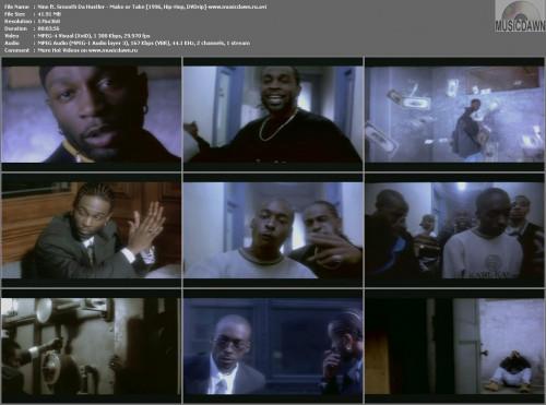 Nine ft. Smooth Da Hustler - Make or Take (1996, Hip-Hop, DVDrip)