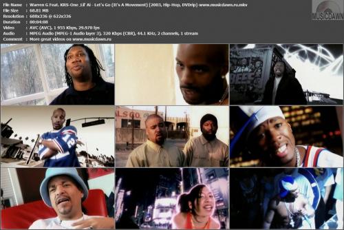 Warren G Feat. KRS-One & Lil' Ai - Let's Go (It's A Movement) {2003, DVDrip}
