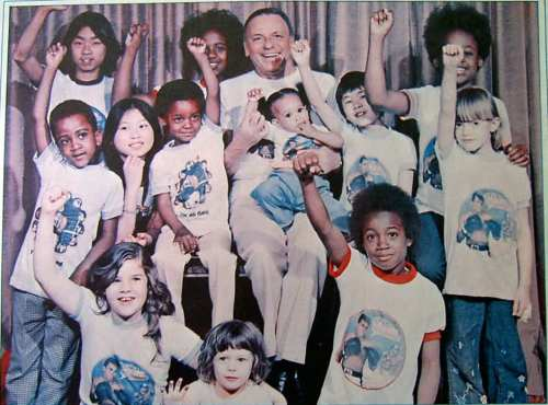 Children's Power! - Frank Sinatra with kids photo