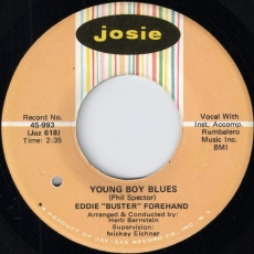 Eddie Buster Forehand - Young Boy Blues