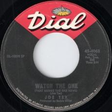 Joe Tex - Watch The One