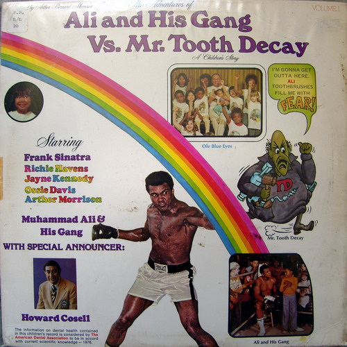 Ali & His Gang VS. Mr. Tooth Decay Front Cover Art