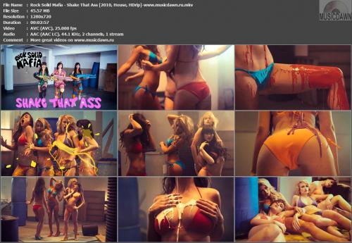 Rock Solid Mafia - Shake That Ass (2010, House, HD 720p)