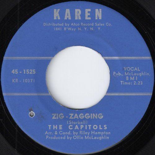 The Capitols - Zig-Zagging (Karen)