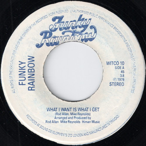 Funky Rainbow - What I Want Is What I Get (Funky Rainbow)