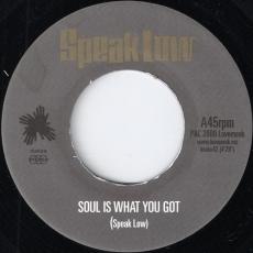 Speak Low - Soul Is What You Got (Lovemonk)