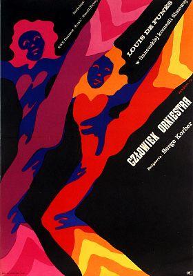 Lhomme Orchestre Poster Pollish