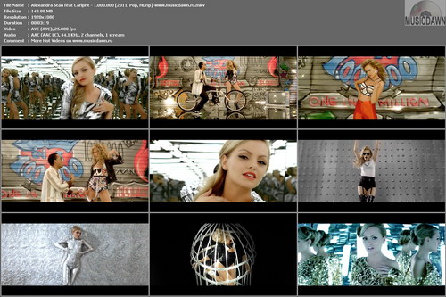Alexandra Stan feat Carlprit – 1.000.000 [2011, HD 1080p] Music Video