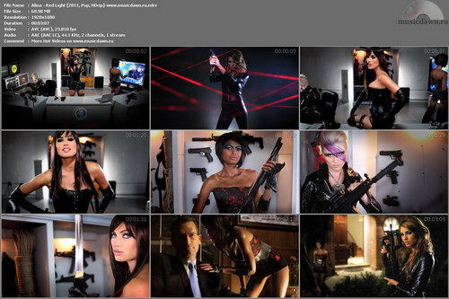 Alina – Red Light [2011, HD 1080p] Music Video (Re:Up)
