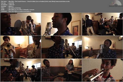 Aloe Blacc & The Grand Scheme – Live in Studio [2010, HDrip] 4 Music Videos