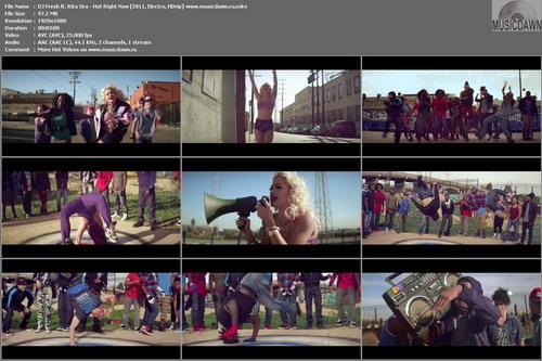 DJ Fresh ft. Rita Ora – Hot Right Now [2011, HD 1080p] Music Video