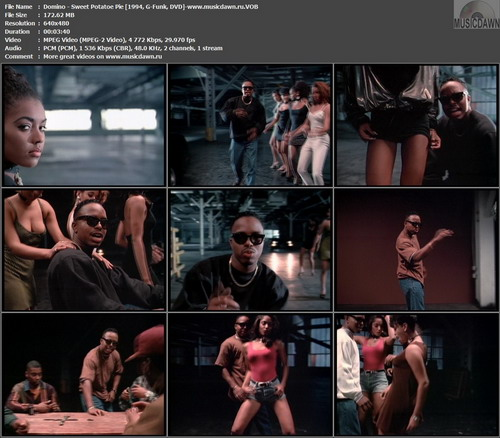 Domino – Sweet Potatoe Pie [1994, DVD VOB] Music Video (Re:Up)