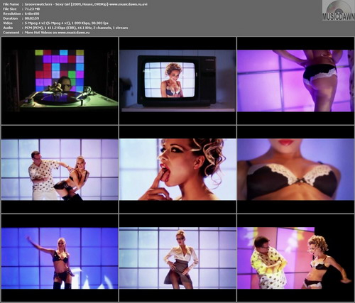Groovewatchers – Sexy Girl [2009, DVDRip] Music Video (Re:Up)