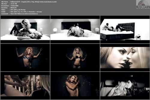 Hollywood FM – Догола | Stripping Off (2 Versions) [2011, HDrip 1080p] Music Videos
