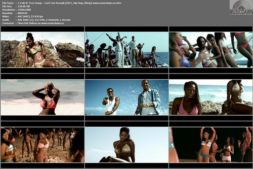 J. Cole ft. Trey Songz – Can't Get Enough [2011, HD 1080p] Music Video