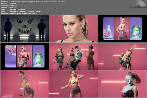 Jax Panik - Get Up (Version 1) 2010, Power Pop, HDrip