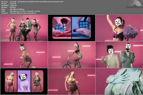 Jax Panik - Get Up (Version 2) 2010, Power Pop, HDrip