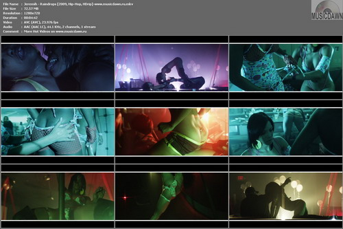 Jeremih – Raindrops [2009, HD 720p] Music Video