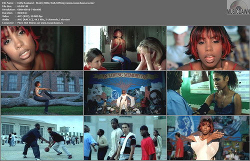 Kelly Rowland – Stole [2002, DVDrip] Music Video (Re:UP)
