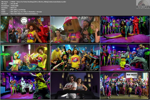 LMFAO – Sorry For Party Rocking [2012, HD 1080p] Music Video