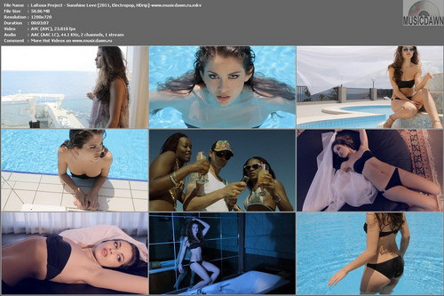LaRoxx Project – Sunshine Love [2011, HD 720p] Music Video