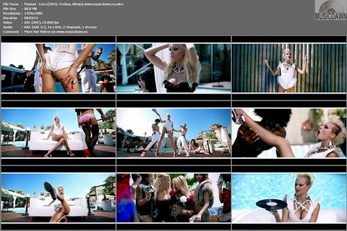 Manian – Loco [2010, HDrip 1080] Music Video (Re:Up)