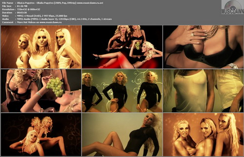 OliaLia Pupytes – Olialia Pupytes [2009, DVDrip] Music Video (Re:Up)
