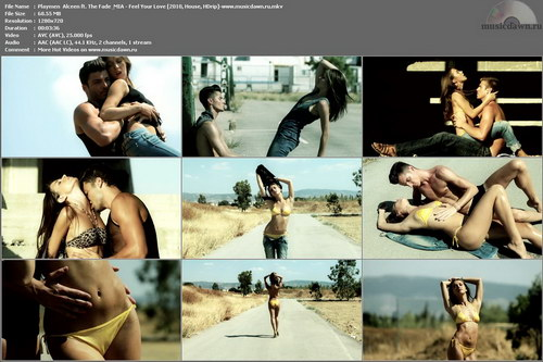 Playmen & Alceen ft. The Fade & MIA – Feel Your Love [2010, HDrip] Music Video