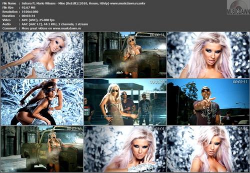 Sahara ft. Mario Winans – Mine (ReEdit) [2010, HDrip] Music Video (Re:Up)