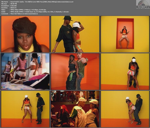 Sean Paul ft. Sasha – I'm Still In Love With You [2003, DVDrip] Music Video