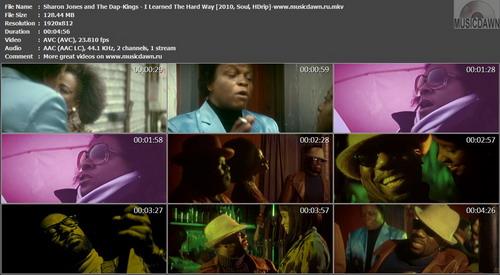 Sharon Jones and The Dap-Kings - I Learned The Hard Way (2010, Soul, HDrip)