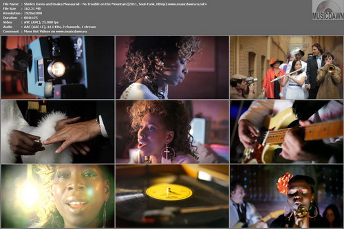 Shirley Davis and Osaka Monaurail – No Trouble On The Mountain [2011, HD 1080p] Music Video (Re:Up)