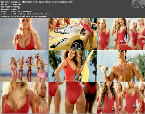 Sunblock – I'll Be Ready [2005, DVDrip] Music Video (Re:Up)