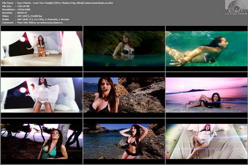 Syra Martin – Love You Tonight [2012, HD 1080p] Music Video