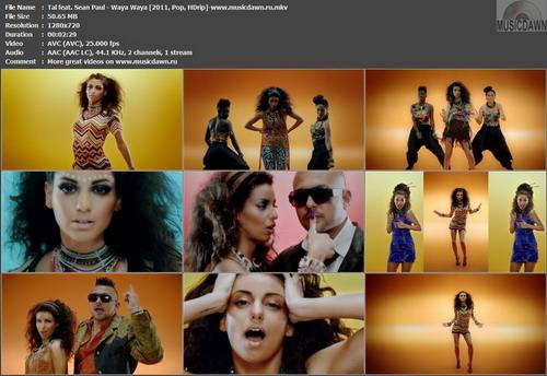 Tal feat. Sean Paul – Waya Waya [2011, HD 720p] Music Video (Re:Up)