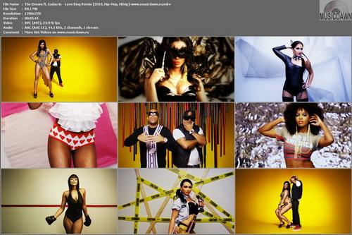 The Dream ft. Ludacris – Love King Remix [2010, HD 720p] Music Video