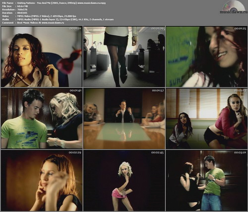 Uniting Nations – You And Me [2005, DVDrip] Music Video (Re:Up)