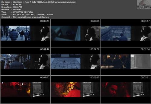 Aloe Blacc – I Need A Dollar [2010, HDrip] Music Video (Re:Up)