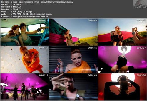 Elena Gheorghe – Disco Romancing [2010, HD 720p] Music Video (Re:Up)