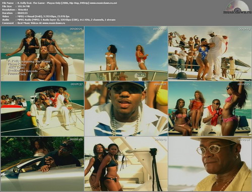 R. Kelly feat. The Game – Playas Only [2006, DVDrip] Music Video (Re:Up)