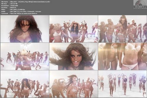 Алина Артц – LA | Alina Artc – LA [2012, HD 1080p] Music Video