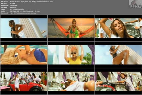 Anjeza Branka – Papi [2013, HD 1080p] Music Video