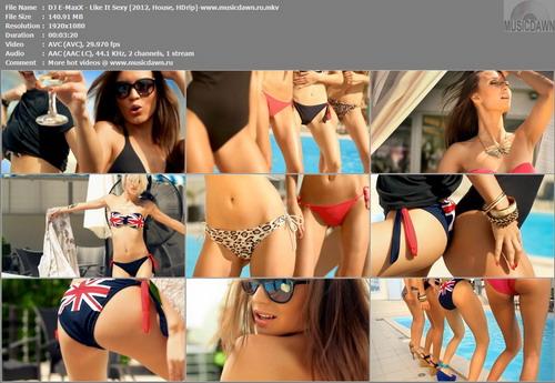 DJ E-MaxX – Like It Sexy [2012, HD 1080p] Music Video