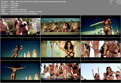 INNA – More Than Friends [2013, HD 1080p] Music Video
