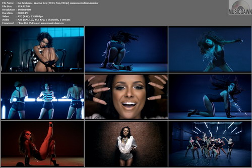 Kat Graham – Wanna Say [2013, HD 1080p] Music Video