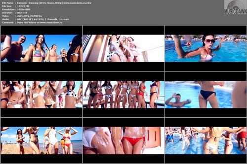 Komodo – Dancing [2013, HD 1080p] Music Video