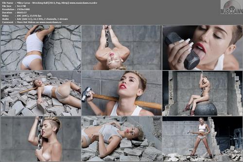 Miley Cyrus – Wrecking Ball [2013, HD 1080p] Music Video