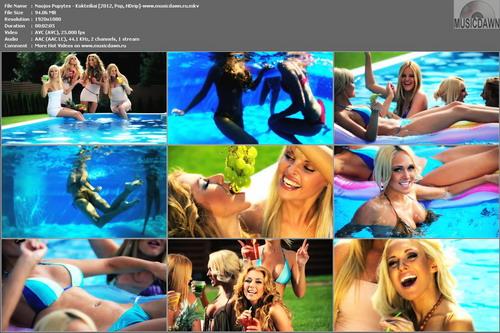 Naujos Pupytes – Kokteiliai [2012, HD 1080p] Music Video